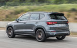 Cupra Ateca 2018 prototype first drive review hero rear