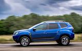 Dacia Duster Bi-Fuel 2020 UK first drive review - hero side