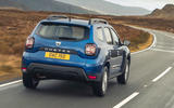 2 Dacia Duster diesel 4x4 2021 UK first drive review hero side