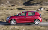 Dacia Sandero 2019 UK first drive review - hero side
