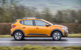 2 Dacia Sandero Stepway 2021 UK first drive review hero side