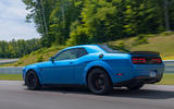 Dodge Challenger Hellcat Redeye Widebody 2018 first drive review - hero rear