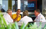 F1 team talking