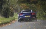 Ferrari 812 GTS 2020 UK first drive review - hero rear