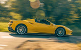Ferrari F8 Tributo Spider 2020 UK first drive review - hero side