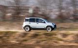 Fiat Panda Cross Hybrid 2020 first drive review - hero side