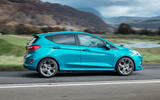 Ford Fiesta EcoBoost mHEV 2020 UK first drive review - hero side