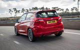 Ford Fiesta ST 2018 review hero rear