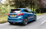 Ford Fiesta ST 2018 UK first drive review hero rear
