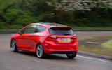 Ford Fiesta ST-Line 2018 long-term review hero rear