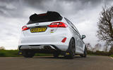 Ford Fiesta ST Mountune m235 2020 first drive review - hero rear