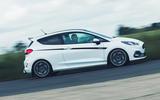 2 Ford Fiesta ST Mountune m260 2021 UK FD hero side