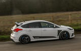 Ford Focus RS Mountune M520 2020 UK first drive review - hero side