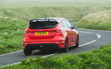 Ford Focus RS Race Red Edition rear