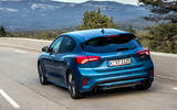 Ford Focus ST 2019 first drive review - hero rear