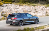 Ford Focus ST estate EcoBlue 2019 first drive review - hero rear