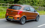 Ford Ka+ Active 2018 first drive review hero rear