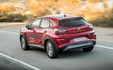 Ford Puma Titanium 2020 first drive review - hero rear