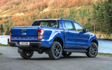 Ford Ranger Wildtrak X 2018 first drive review - static rear