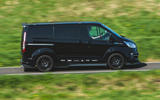 Ford Transit MS-RT custom review hero side