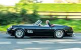 2 GTO California Spyder revival 2021 UK FD hero side