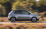 Honda e 2020 UK first drive review - hero rear