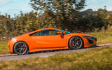 Honda NSX 2019 UK first drive review - hero side