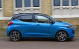 Hyundai i10 2020 UK first drive review - hero side