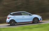 2 Hyundai i20 N 2021 UK first drive review hero side