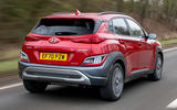 2 Hyundai Kona 1.6 hybrid 2021 UK first drive review hero rear