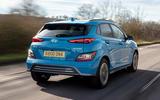 2 Hyundai Kona Electric 2021 UK first drive review hero rear