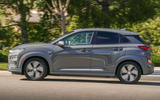 Hyundai Kona Electric 2018 first drive review hero side