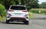 2 Hyundai Kona N 2021 UK LHD FD hero rear