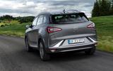 Hyundai Nexo 2019 first drive review hero rear