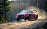 Hyundai rally car - hero front