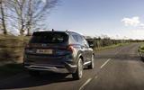 2 Hyundai Santa fe 2021 UK first drive review hero rear