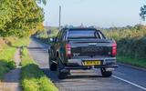 Isuzu D-Max Arctic Trucks 2020 UK first drive review - hero rear