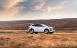 2 Jaguar E Pace P300e 2021 uk first drive review hero side
