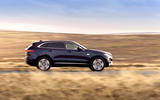 2 Jaguar F Pace P400e 2021 uk first drive review hero side