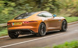 Jaguar F-Type MY2018 first drive review - hero rear