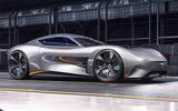Jaguar F-Type replacement render 2020 - static front