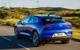 Jaguar I-Pace 2018 review hero rear