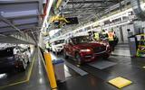 Jaguar Land Rover factory