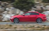Jaguar XE P300 2019 first drive review - hero side