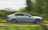 Jaguar XE P300 2019 UK first drive review - hero side