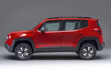 Jeep Renegade - static side
