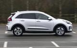 2 Kia e Niro 39kWh 2021 UK first drive review hero side