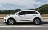 Kia Niro EV 2019 first drive review hero left