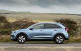 Kia Niro PHEV 2020 UK first drive review - hero side