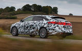 Kia Proceed GT 2018 prototype drive hero rear